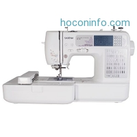 ihocon: Brother SE400 Combination Computerized Sewing and 4x4 Embroidery Machine With 67 Built-in Stitches, 70 Built-in Designs, 5 Lettering Fonts
