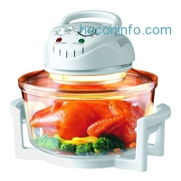 ihocon: Hometech HT-A11 12 Quart 1200W Halogen Infrared Tabletop Convection Countertop Cooking Toaster Oven 紅外線對流玻璃烤箱