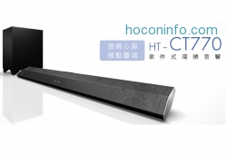 ihocon: Sony HT-CT770 2.1 Channel 330W Sound Bar with Wireless Subwoofer