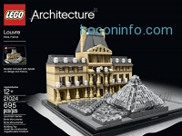ihocon: LEGO Architecture 樂高積木建築系列: Louvre Building Kit 21024
