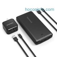 ihocon: Tiergrade 22000mAh 3 Port High Speed Power Bank + 2-Port Wall Charger + 2 x Micro USB Cable