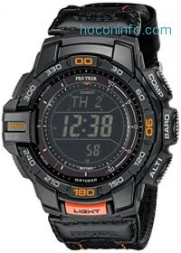 ihocon: Casio Men's PRG-270B-1CR PRO TREK Aviator Black Watch