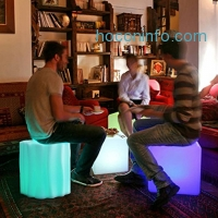 ihocon: LOFTEK LED燈變色椅 Lights Rechargeable Pool Light with Remote Control