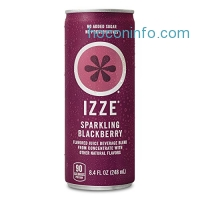 ihocon: IZZE Sparkling Juice, Blackberry, 8.4-Ounce Cans (Pack of 24)
