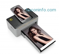 "ihocon: Kodak Dock & Wi-Fi 4x6"" Photo Printer with Advanced Patent Dye Sublimation Printing Technology & Photo Preservation Overcoat Layer - Compatible with Android & iOS 無線即時列印相片印表機"