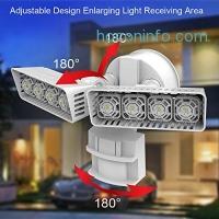 ihocon: SANSI LED Security Motion Sensor Outdoor Lights, 30W (250W Incandescent Equivalent) 3000lm, 5000K Daylight, Waterproof Floodlight 室外動作感應燈