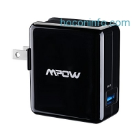 ihocon: Mpow 18W USB AC Wall Charger with Qualcomm Certified Quick Charge 2.0 XSmart Technology 快速充電器