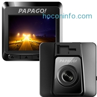 ihocon: PAPAGO Car Dash Camera GoSafe 388 Full HD Dash Cam 1080P Car DVR with GPS option, Night Vision ,Free 8GB Micro SD Card GS3888G