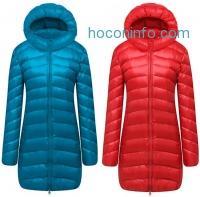 ihocon: Cloudy Arch Women's Lightweight Packable Hooded Down Coat連帽羽絨外套-多色可選