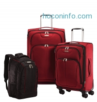 ihocon: Samsonite Versa-Lite 360 3 Piece Nested Luggage Set