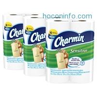 ihocon: Charmin Sensitive Toilet Paper, Bath Tissue, Mega Roll, 18 Count