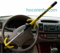 ihocon: The Club 3000 Twin Hooks Steering Wheel Lock 汽車防盜方向盤鎖