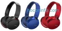 ihocon: Sony 藍牙無線超重低音麥克風耳機 Extra Bass Bluetooth Headphones MDRXB950BT