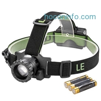 ihocon: LE Zoomable LED 3 Modes Headlamp可調焦距頭燈