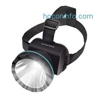 ihocon: KMASHI 2600 Feet Lighting Distance LED Headlamp頭燈
