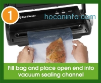 ihocon: FoodSaver V2244 Vacuum Sealing System with Starter Kit