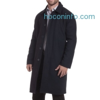 ihocon: Alpine Swiss Men's Trench Wool Blend Overcoat男士羊毛混紡長外套