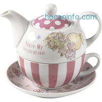 ihocon: Precious Moments, You're My Inspiration, Porcelain Tea For One Set, 164442