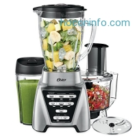 ihocon: Oster Pro 1200 Blender 2-in-1 with Food Processor Attachment and XL Personal Blending Cup