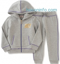ihocon: Juicy Couture Baby Girls' 2 Piece Hooded Jacket and Jog Pant Set