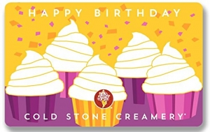 ihocon: $50 Cold Stone Happy Birthday Gift Cards - E-mail Delivery
