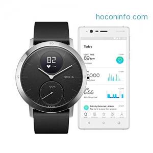 Nokia Steel HR Hybrid Smartwatch 心率智能手錶 $125.97免運(原價$179.95)