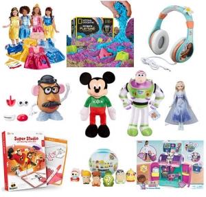 [Amazon 今日特賣, 快買聖誕禮物] Disney玩具, 童裝..等(共4頁) 特價優惠