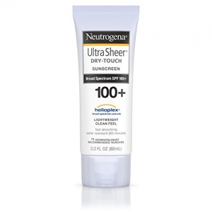 ihocon: Neutrogena Ultra Sheer Dry-Touch Sunscreen, Broad Spectrum Spf 100, 3 Fl. Oz. 露得清 乾式防曬霜,廣譜 100,3 。奧茲。