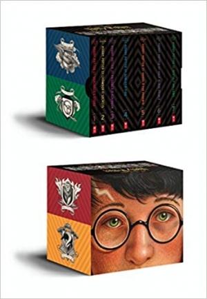 ihocon: Harry Potter Books 1-7 Special Edition Boxed Set 哈利波特書籍1-7特別版盒裝套裝