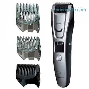 ihocon: Panasonic ER-GB80-S Body and Beard Trimmer, Hair Clipper, Men's, Cordless/Corded Operation with 3 Comb Attachments and and 39 Adjustable Trim Settings, Washable