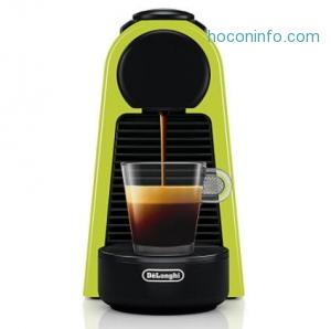 ihocon: Nespresso Essenza Mini Espresso Machine by De'Longhi, Lime