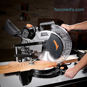 ihocon: Tacklife 15-Amp 12-inch Single Bevel Compound Miter Saw with Laser Guide