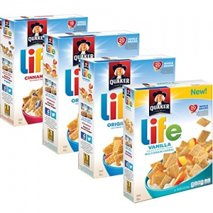 ihocon: Quaker Life Breakfast Cereal Variety Pack, 52 Ounce