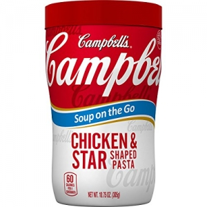 ihocon: Campbell's Soup on the Go, Chicken & Star Shaped Pasta, 10.75 oz (Pack of 8)