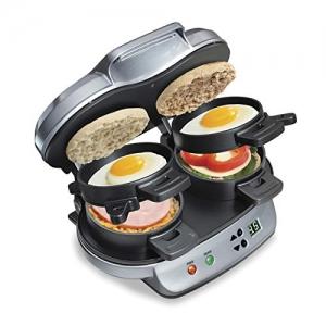 ihocon: Hamilton Beach Dual Breakfast Sandwich Maker 三明治機