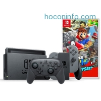 ihocon: Nintendo Switch + Nintendo Switch Pro Controller + Super Mario Odyssey