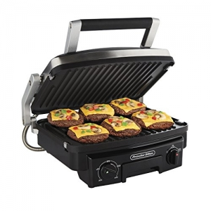 ihocon: Proctor Silex 5-in-1 Indoor Countertop Grill, Griddle & Panini Press  (25340)   5合1電烤盤