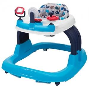 ihocon: Safety 1st Ready, Set, Walk! 2.0 Developmental Baby Walker with Activity Tray (Nantucket 2) 學步車
