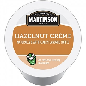 ihocon: Martinson Joe's Coffee, Hazelnut Creme,0.34 Ounce, 24 Single Serve RealCups 咖啡膠囊