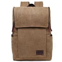 ihocon: Zebella Casual Canvas Laptop Backpack 電腦背包