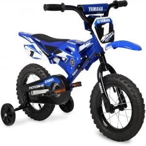 ihocon: 12 Yamaha Moto Child's BMX Bike 兒童摩托車造行自行車, 含輔助輪