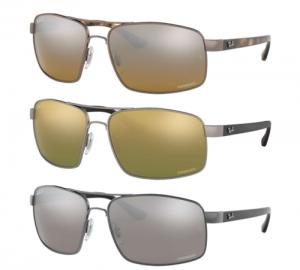 ihocon: Ray Ban Chromance Polarized Sunglasses RB3604CH Silver Or Green Or Brown Lens   雷朋偏光太陽鏡