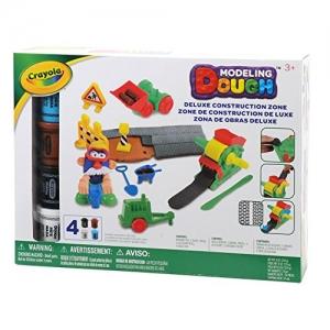 ihocon: Crayola Modeling Dough Deluxe Construction Zone Kit - 24 pieces黏土工具組