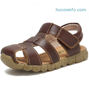 ihocon: CIOR Boys' Closed-Toe Leather Sandals兒童涼鞋