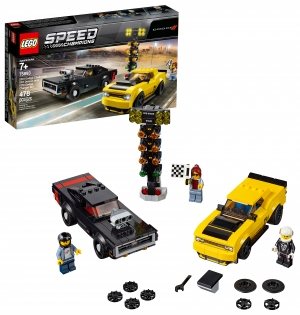 ihocon: LEGO Speed Champions 2018 Dodge Challenger SRT Demon and 1970 75893