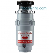 ihocon: Waste King Legend Series 1/2 HP Continuous Feed Garbage Disposal with Power Cord - (L-1001)