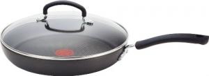 T-fal 12吋 熱點顯示含蓋不粘鍋 $37.52免運(原價$125, 70% Off)