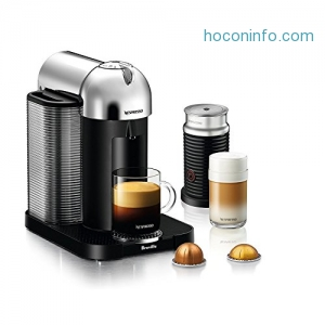 ihocon: Nespresso Vertuo Coffee and Espresso Maker, Chrome (Certified Refurbished)