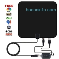ihocon: BOOSSTAR INDOOR TV ANTENNA,50+ Mile Range室內天線