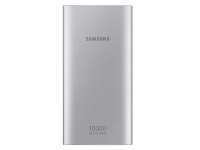 ihocon: Samsung 10,000 mAh Portable Battery with USB-C Cable, Silver行動電源/充電寶